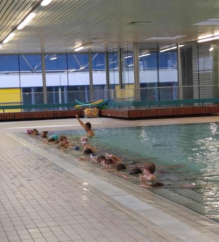 Enota Živ žav: Plavalni tečaj
